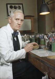 Aleksandr Fleminq (Alexander Fleming)